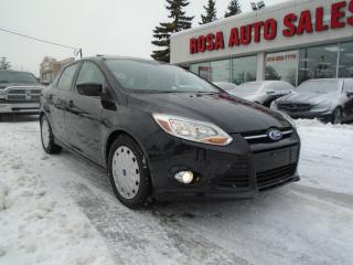 Used 2012 Ford Focus AUTO, LOW KM, NO ACCIDENT,  BLUETOOTH, AUX, NO RUS for sale in Oakville, ON
