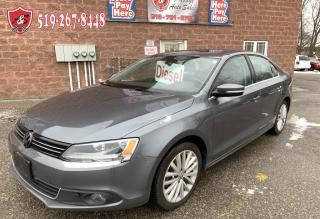 Used 2013 Volkswagen Jetta TDI/DIESEL/NO ACCIDENT/CERTIFIED/WARRAN for sale in Cambridge, ON