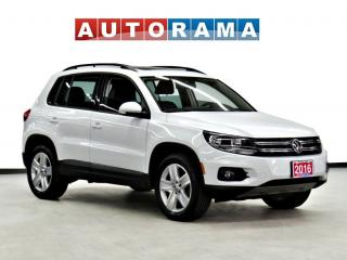Used 2016 Volkswagen Tiguan COMFORTLINE NAVI BACK UP CAM LEATHER PAN SUNROOF for sale in Toronto, ON