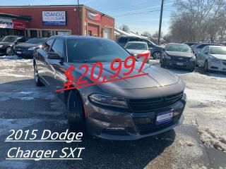 Used 2015 Dodge Charger SXT for sale in Windsor, ON