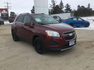Used 2015 Chevrolet Trax LT for sale in Harriston, ON