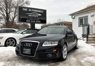 Used 2010 Audi A6 3.0L Special Edition S-LINE AWD QUATTRO ONE OWNER for sale in Mississauga, ON