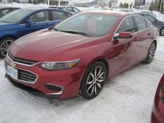 Used 2017 Chevrolet Malibu LT True North for sale in Thunder Bay, ON