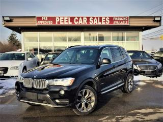 Used 2015 BMW X3 xDrive28d|ACCIDENT FREE|REARVIEW|PANOROOF| for sale in Mississauga, ON
