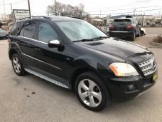 Used 2010 Mercedes-Benz ML-Class ML350 BlueTEC l DIESEL l AL WHEEL DRIVE for sale in Oakville, ON