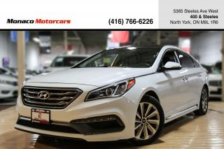 Used 2015 Hyundai Sonata Sport Tech- BLINDSPOT|BACKUP|NAVI|PANO for sale in North York, ON