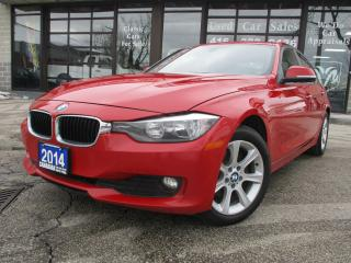 Used 2014 BMW 3 Series 320 XDRIVE-LETHER-HEATED SEATS - BLUETOOTH -SENSOR for sale in Scarborough, ON