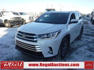 Used 2017 Toyota HIGHLANDER XLE 4D UTILITY AWD 3.5L for sale in Calgary, AB