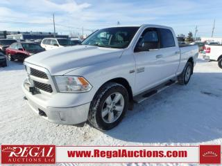 Used 2014 RAM 1500 SLT CREW CAB 4WD for sale in Calgary, AB