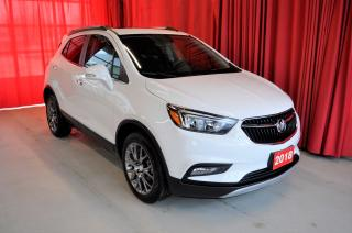 Used 2018 Buick Encore Sport Touring | AWD | Moonroof for sale in Listowel, ON
