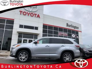 Used 2016 Toyota Highlander XLE EXTENDED WARRANTY for sale in Burlington, ON