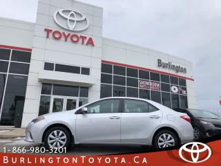 Used 2015 Toyota Corolla LE EXTENDED WARRANTY for sale in Burlington, ON