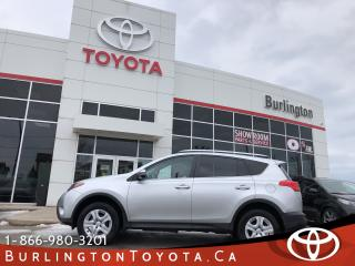 Used 2015 Toyota RAV4 LE AWD LOW LOW KM'S for sale in Burlington, ON