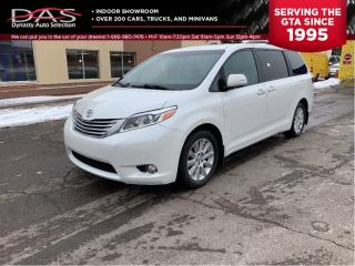 Used 2015 Toyota Sienna LIMITED AWD/NAVIGATION/PANORAMIC ROOF for sale in North York, ON