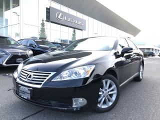 Used 2012 Lexus ES 350 6A Local, LOW KMS, ONE Owner for sale in North Vancouver, BC