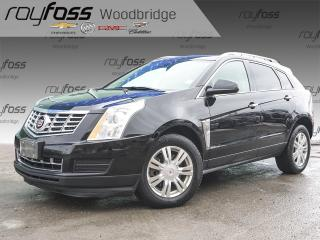 Used 2015 Cadillac SRX Luxury SUNROOF, NAV, HEATED STEERING WHEEL for sale in Woodbridge, ON