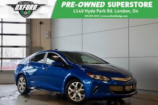 Used 2018 Chevrolet Volt Electric Premier - Hybrid, One Owner, Like New for sale in London, ON