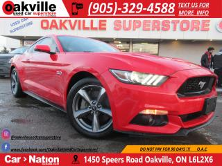 Used 2016 Ford Mustang GT PREMIUM | V8 | BACK UP CAMERA | LEATHER | for sale in Oakville, ON