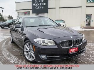 Used 2011 BMW 535 I xDrive | NAVIGATION | HUD | HEATED STEERING for sale in Kitchener, ON