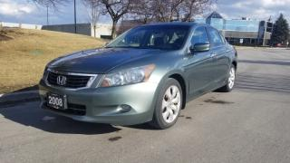 Used 2008 Honda Accord 4dr V6 Auto EX-L | Accident Free | One Owner for sale in Vaughan, ON