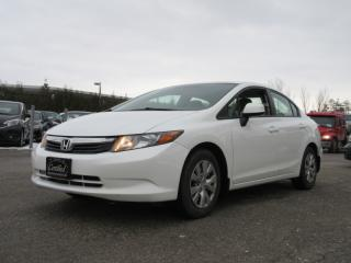 Used 2012 Honda Civic 4dr Auto LX / ONE OWNER / ACCIDENT FREE for sale in Newmarket, ON