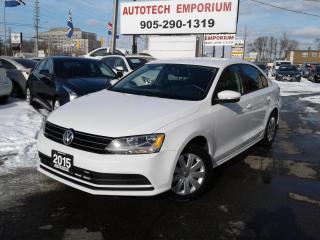 Used 2015 Volkswagen Jetta Prl White Trendline Camera/Btooth All Pwr&GPS* for sale in Mississauga, ON