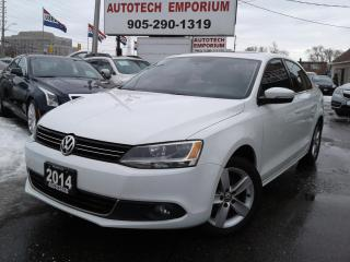 Used 2014 Volkswagen Jetta TDI Comfortline Cam/Sunroof/Alloys&GPS*$49/wkly for sale in Mississauga, ON