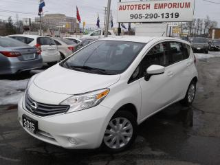 Used 2015 Nissan Versa Note Bluetooth/All-Pwr/Keyless&GPS*$35/wkly for sale in Mississauga, ON