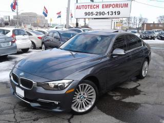 Used 2015 BMW 3 Series 320i xDrive AWD Alloys/Leather/Sunroof&GPS for sale in Mississauga, ON