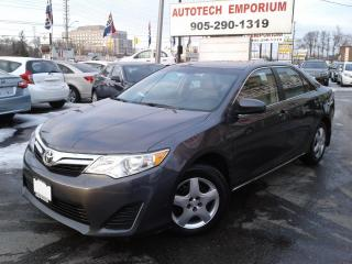 Used 2014 Toyota Camry LE Camera/Bluetooth/All Power&GPS for sale in Mississauga, ON