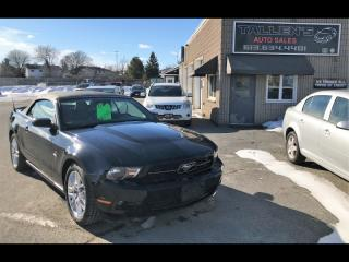 Used 2012 Ford Mustang Covertible Premium for sale in Kingston, ON