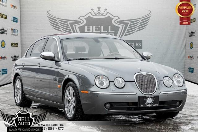 2007 Jaguar S-Type POWER MOONROOF, LEATHER, HEATED/POWER SEATS