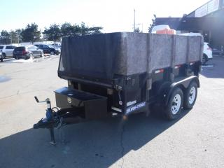 Used 2015 SURE-TRAC 5X10 DUMP Hydraulic Dual Axle Dump Trailer With Roller for sale in Burnaby, BC