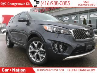 Used 2018 Kia Sorento SX V6 | 7 PASSENGER | LOADED | BRAND NEW | for sale in Georgetown, ON