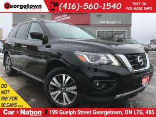 Used 2017 Nissan Pathfinder SL | LEATHER | 360 CAMERA | ALL WHEEL DRIVE|7 PASS for sale in Georgetown, ON