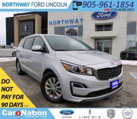 Used 2019 Kia Sedona LX | HTD SEATS & WHEEL | 3 ROWS | BACKUP CAM for sale in Brantford, ON