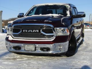 Used 2016 RAM 1500 LARAMIE LONGHORN for sale in Brandon, MB