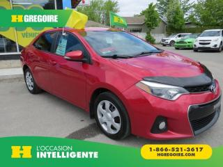 Used 2014 Toyota Corolla S AUT A/C CAMERA for sale in St-Léonard, QC