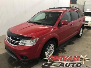 Used 2017 Dodge Journey Sxt V6 Gps Tv/dvd 7 for sale in Trois-Rivières, QC