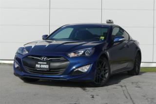 Used 2016 Hyundai Genesis Coupe 3.8L - Premium - M6 *Navi* for sale in Vancouver, BC