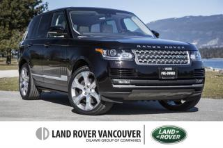 Used 2016 Land Rover Range Rover V8 Supercharged SWB *Certified Pre-Owned! for sale in Vancouver, BC