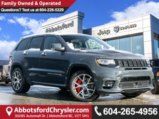 Used 2017 Jeep Grand Cherokee SRT *ACCIDENT FREE* *LOCALLY DRIVEN* for sale in Abbotsford, BC