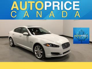 Used 2015 Jaguar XF Luxury NAVIGATION|REAR CAM|LEATHER for sale in Mississauga, ON