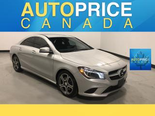 Used 2015 Mercedes-Benz CLA-Class XENON|AWD|NAVIGATION|LEATHER for sale in Mississauga, ON