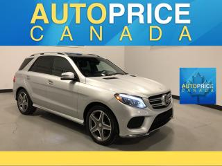 Used 2016 Mercedes-Benz GLE SPRT PKG|AMG STYLING|NAVIGATION|PANOROOF|LEATHER for sale in Mississauga, ON