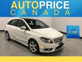 Used 2014 Mercedes-Benz B-Class Sports Tourer NAVIGATION|PANOROOF|LEATHER for sale in Mississauga, ON