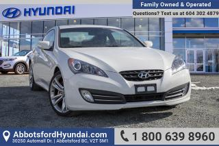 Used 2012 Hyundai Genesis Coupe 3.8 GT Navigation LOW KILOMETERS, GREAT CONDITION & ONE OWNER for sale in Abbotsford, BC