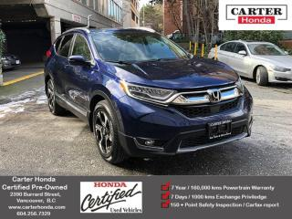 Used 2017 Honda CR-V Touring for sale in Vancouver, BC