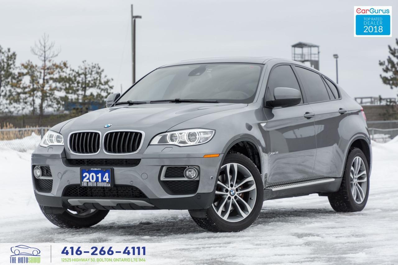 2014 BMW X6 xDrive35i Navi GPS No Accidents Certified Serviced