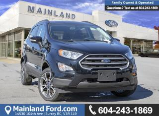 Used 2018 Ford EcoSport SE 4WD 200A for sale in Surrey, BC